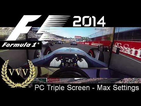 F1 2014 Gameplay - Hamilton - Hockenheim