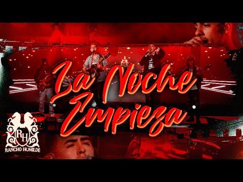Смотреть клип Oscar Maydon X Natanael Cano - La Noche Empieza
