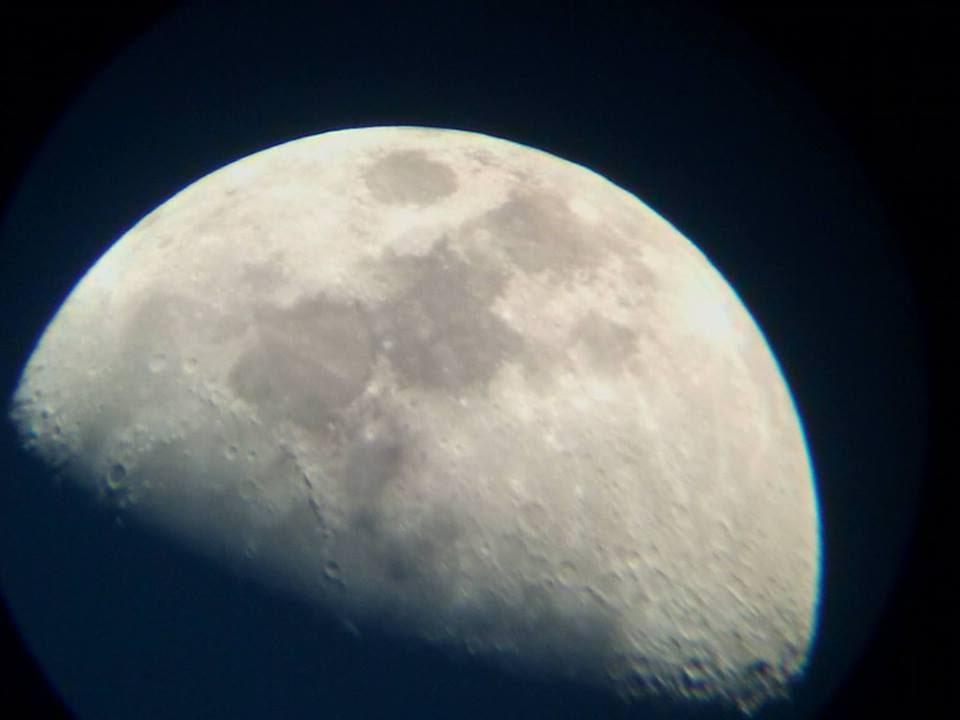 [Clb Khoa Học Sáng Tạo] Ngắm Mặt Trăng Bằng Kính Thiên Văn - Youtube