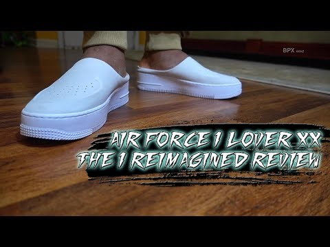 1c99fe8d7adaf AIR FORCE 1 LOVER XX THE 1 REIMAGINED REVIEW + SKIT - YouTube