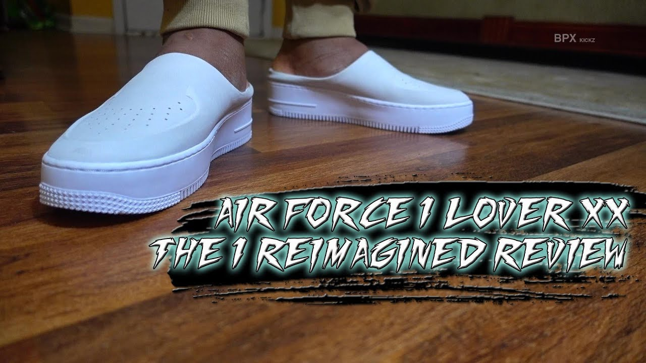 d03c3fe246 AIR FORCE 1 LOVER XX THE 1 REIMAGINED REVIEW + SKIT