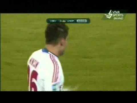 Hamburger All Stars vs Ronaldo & Zidane friends XI 3-4 Goal Rincon [13/12/2011]