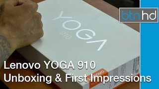 Lenovo Yoga 910 Unboxing & First Impressions!