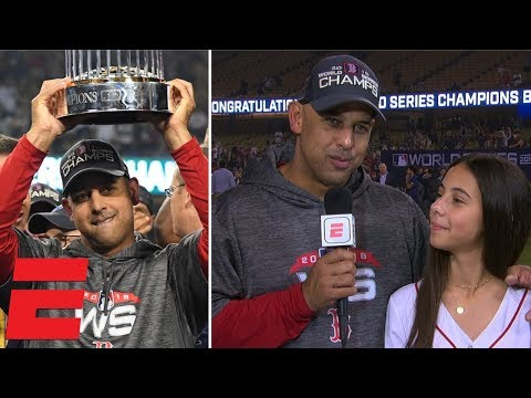 Alex Cora details Boston Red Sox's journey to World Series |