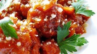 Тефтели. Тефтели в соусе. Видео рецепт очень вкусных тефтелей в томатном соусе.