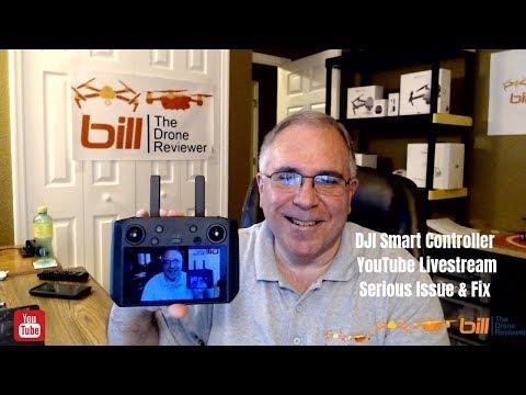 dji-smart-controller-youtube-livestream-serious-issue-&-fix