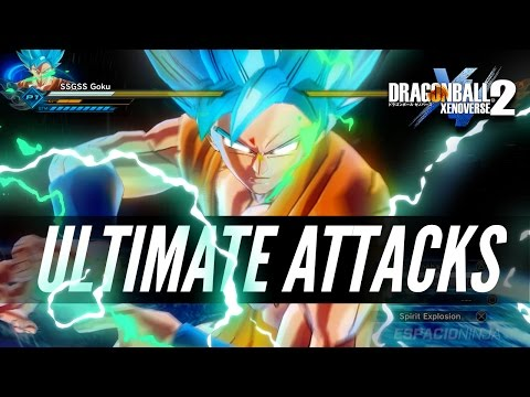 Dragon Ball Xenoverse 2 - All Ultimate Attacks! (w/DLC)