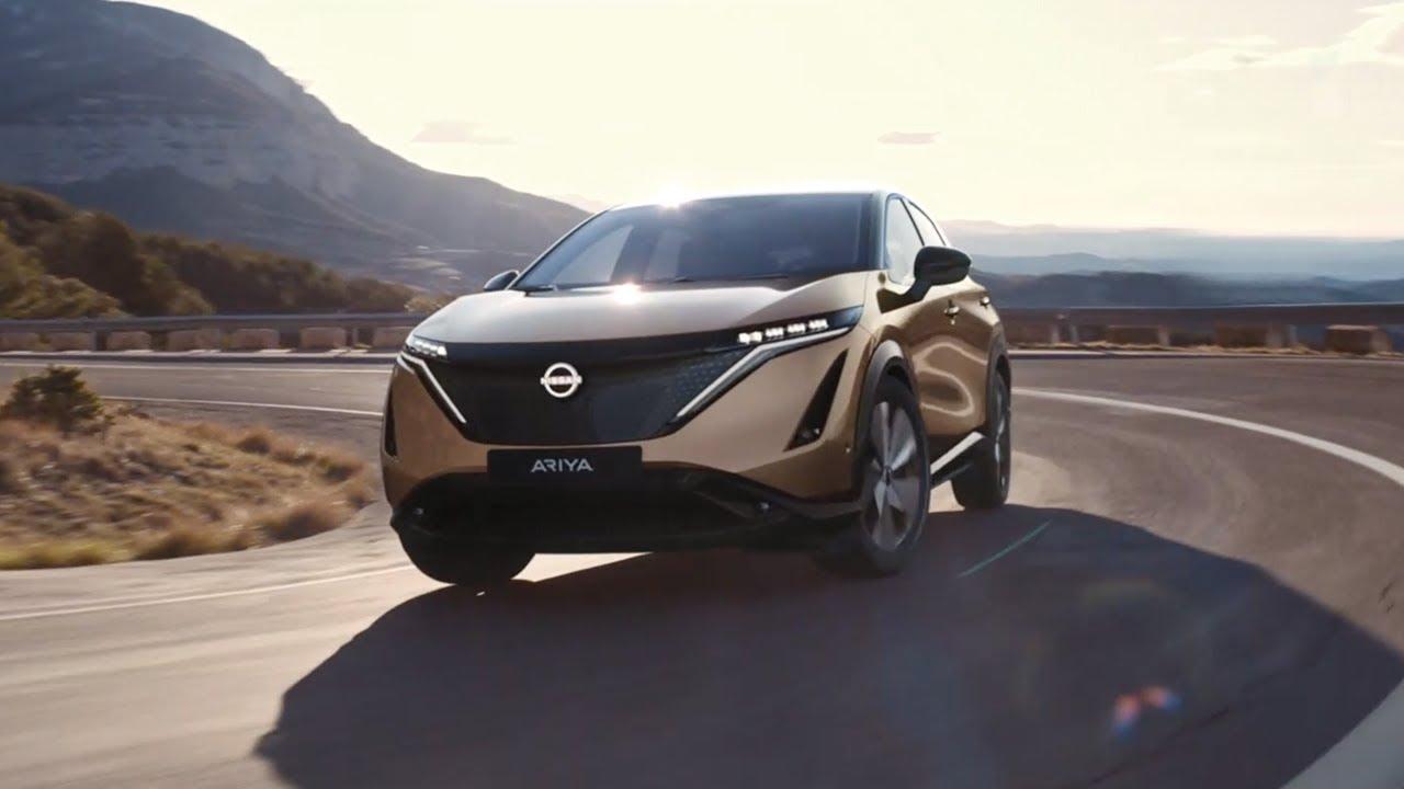 El Nuevo Nissan ARIYA, el crossover coupé 100% eléctrico.