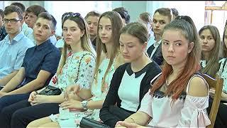 Для учнів гімназії №17 пройшов тематичний урок у виставковій залі Полтавського краєзнавчого музею.