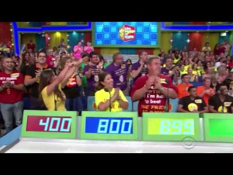 The Price Is Right (10/8/14) | Hole in One & Spelling Bee
