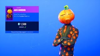 Fortnite ITEM SHOP (October 19) | *NEW* JACK GOURDON SKIN! (BEST SKIN!?)