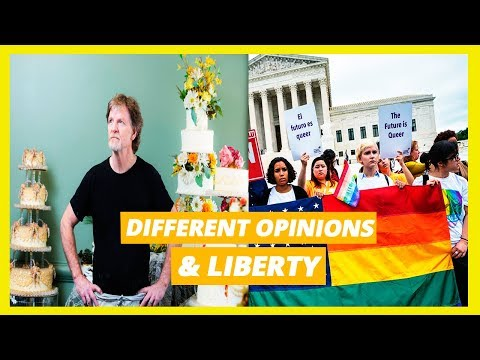 Different Opinions & Liberty (Gay Couple Vs. Baker)