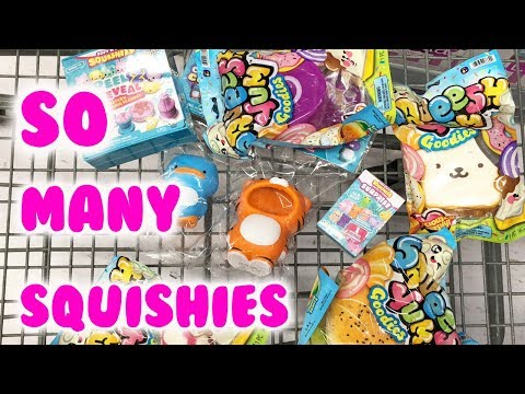 So Many BRAND NEW Squishies at Walmart | $3 Squishies!!! 😱😱😱 WOW!