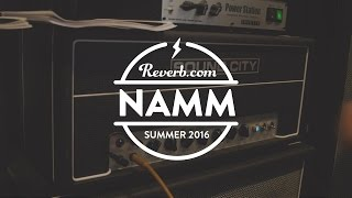 Sound City Master One Hundred Amp at Summer NAMM 2016