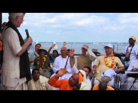 H.G. Anuttama Das speaks during Srila Prabhupada's Arrival in US 50th Anniversary