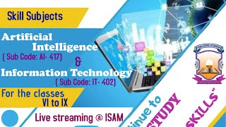 Webinar on Skill Subject