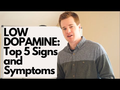 LOW DOPAMINE: Top 5 Signs and Symptoms