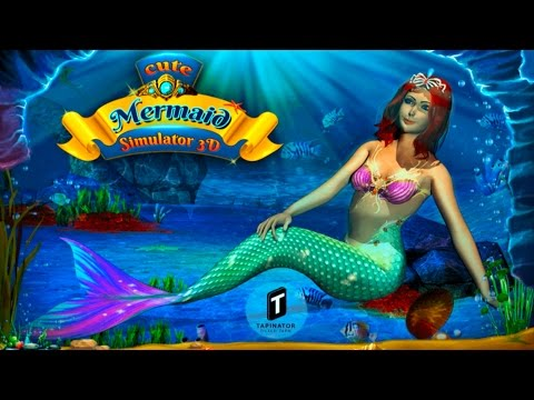 Cute Mermaid Simulator 3D By Tapinator, Inc. Simulation - itunes/Android