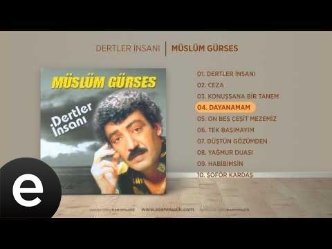 Dayanamam (Müslüm Gürses) Official Audio #dayanamam #müslümgürses - Esen Müzik