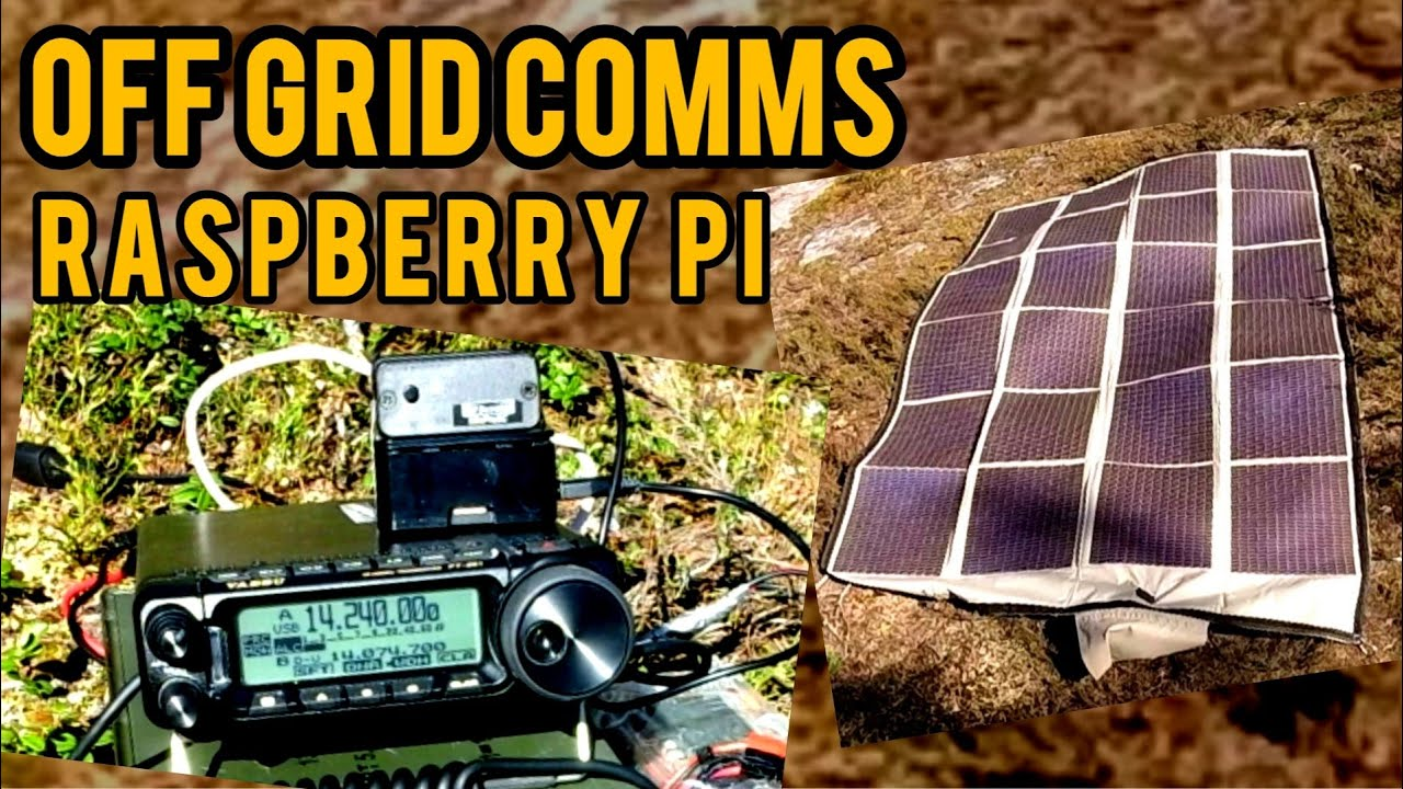 Portable Ham Radio | Solar Powered