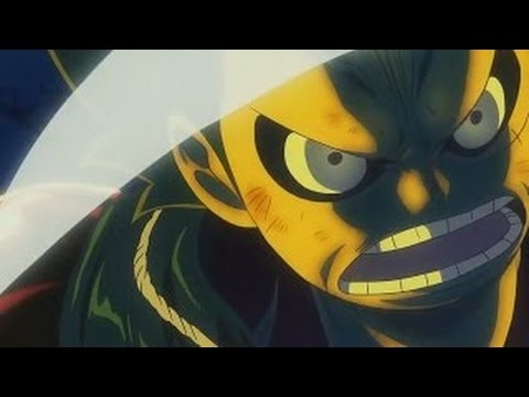 One Piece Film Gold  epic scene Luffy saves Nami using gear 4th[English subtitles]