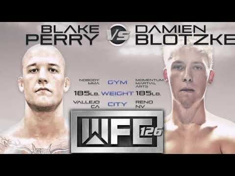 Blake Perry upcoming bout against Damien Blotzke