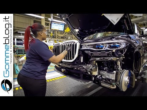 2020 BMW X7- PRODUCTION (BMW USA Car Factory)