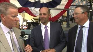 John Smoltz talks Hall of Fame induction with Glavine, Maddux