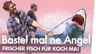 Wilder DIY Angelbau mit Fynn & Brian | Kliemannsland