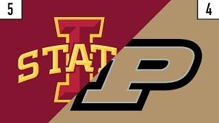 5 Iowa State vs. 4 Purdue Prediction   Who's Got Next?
