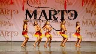 Латина соло: бачата, сальса и др. Обучение в школе танцев МАРТЭ