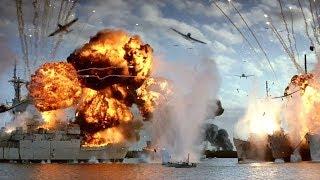 "Перл Харбор атака японцев ч.3 - ""Перл Харбор"" отрывок из фильма"