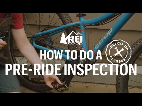 How To Do A Pre-Ride Inspection — REI Co-op Classes