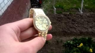 Красивые женские часы GENEVA Swarowski Gold(Красивые женские часы GENEVA Swarowski Gold., 2015-04-16T10:13:30.000Z)