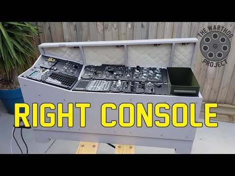 The Complete Right Console- A10C Warthog Simulator