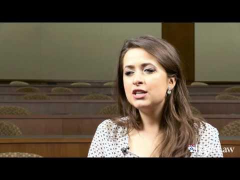 Emma Rose Bienvenu LLM'16 discusses Penn Law's LLM summer program