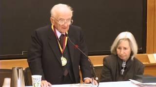 Benjamin Ferencz '43, Receives HLS Medal of Freedom