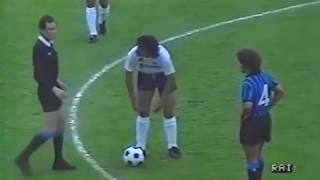 1986 1987 Atalanta   Napoli Primo Tempo Ritorno Finale Coppa Italia