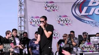 "G-Eazy Performs ""Lady Killers"" at POWERHOUSE"