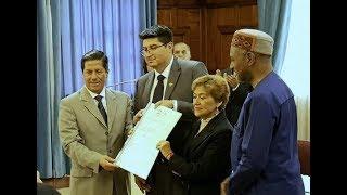 Imbabura recibió la certificación de Geoparque Mundial de la UNESCO
