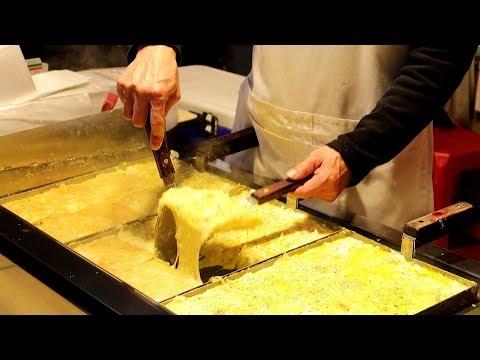 FLUFFIEST OKONOMIYAKI EVER! You Need to try these! Raohe Night Market Street Food