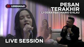 PESAN TERAKHIR ||| VERSI MARIO AND LYODRA