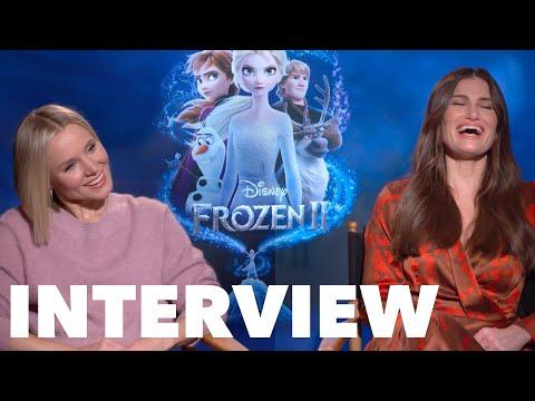 FROZEN 2 Interviews: Idina Menzel, Kristen Bell, Josh Gad, Jonathan Groff, Brown, Wood