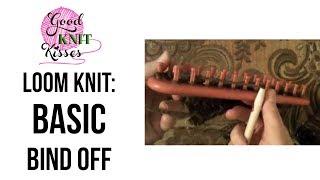 Loom Knitting: How t๐ Basic Bind Off