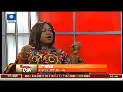 Nigeria Is The Leading Country In Human Trafficking In Africa - Fmr UN Envoy |Sunrise Daily|