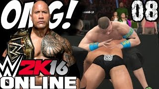 WWE 2K16 Online Türkçe | Spiker MOMO ve The Rock ile disarda OMG | Ümidi vs Worl
