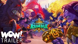 Hearthstone - Rastakhan's Rumble Cinematic Trailer