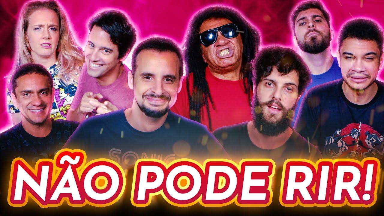 NÃO PODE RIR! com Away, Igor Guimarães, Diogo Defante e Marcos Rossi