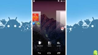 How to rearrange home screens in Android 4.4 KitKat