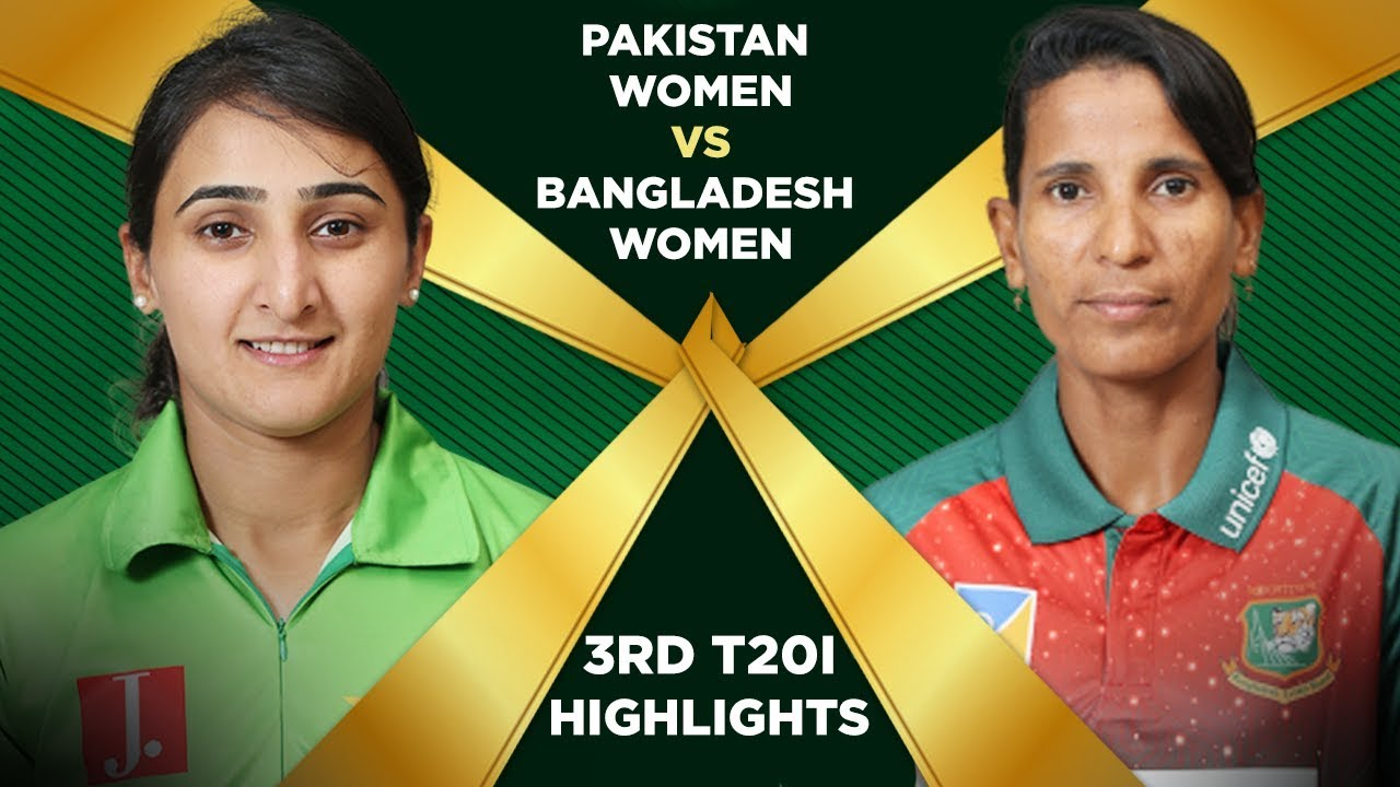 Highlights | Pakistan Women vs Bangladesh Women | 3rd T20I | Final Full Match | PCB